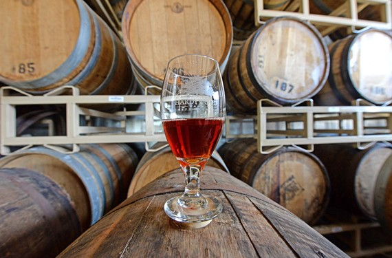 Hardywood Park Craft Brewery, which released new barrel aged beers over the weekend, continues to draw fans. - SCOTT ELMQUIST