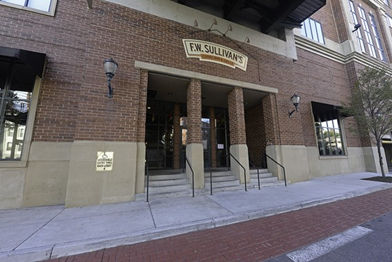 Haxall Point by F.W. Sullivan's on the Canal Walk remains open despite a lawsuit that claims the owners have defaulted on a $50,000 loan.