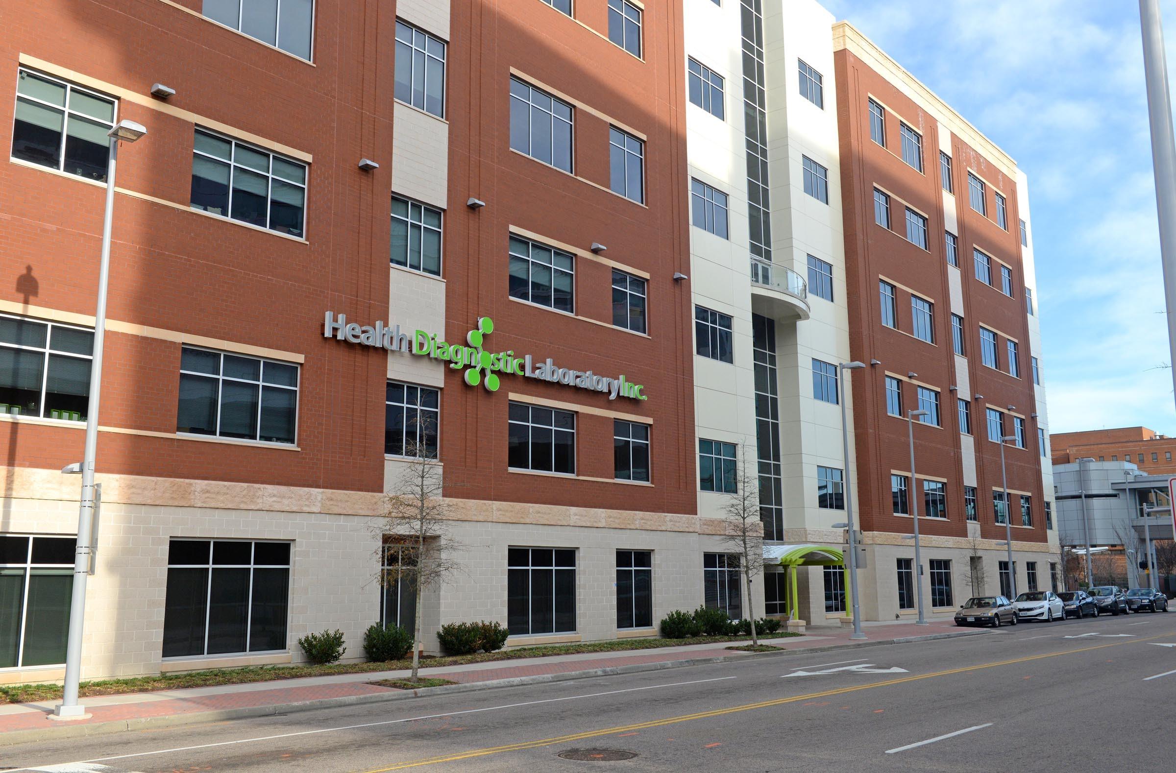 Health Diagnostic Laboratory's new headquarters at 737 N. Fifth Street cost $100 million. - SCOTT ELMQUIST