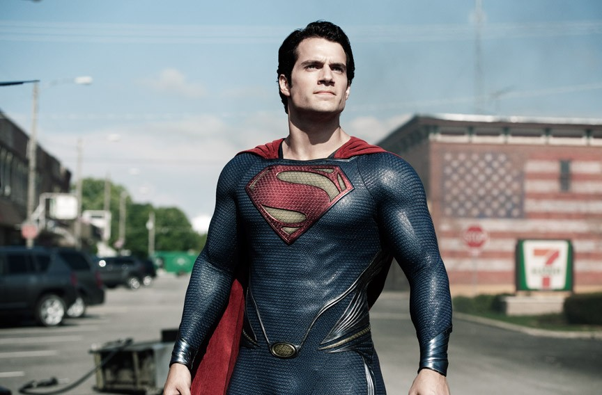 "Henry Cavill as Superman in ""Man of Steel."" - CLAY ENOS"