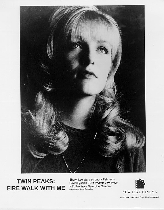 Hide your cocaine and backward-talking dwarfs: Laura Palmer is coming to Richmond (in spirit, anyway). - PUBLICITY STILL