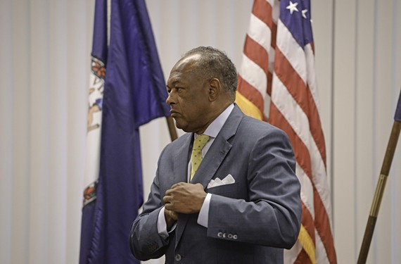 """I believe we can offer a better education with lower cost,"" Mayor Dwight Jones told reporters Monday. ""Sometimes less is actually more."""
