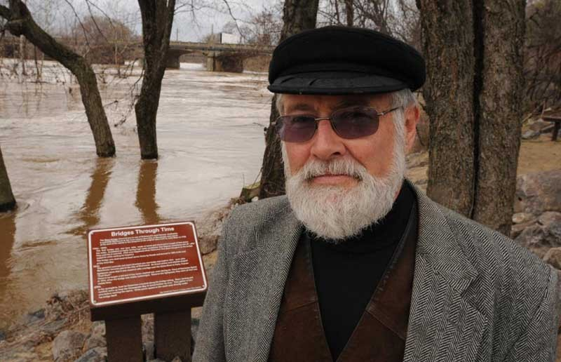 """I feel all right about winding up my career,"" says James River Park System Manager Ralph White, who intends to retire in a year. - SCOTT ELMQUIST"