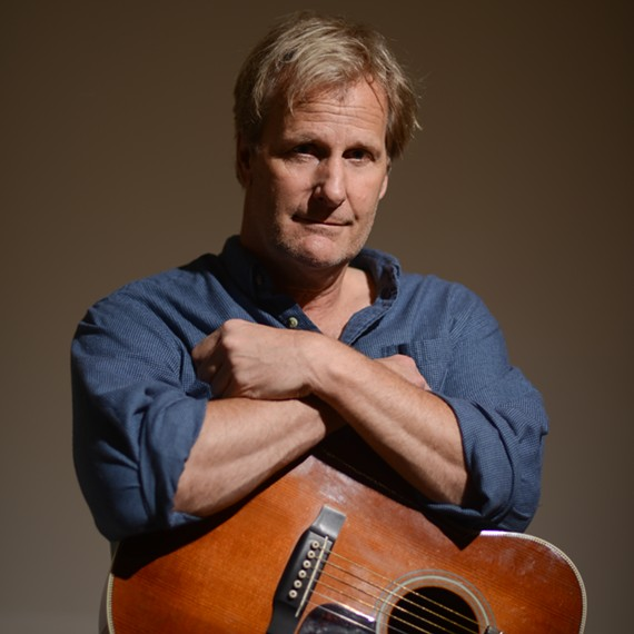 Veteran Hollywood actor Jeff Daniels performs with his son Ben's band this Saturday at Pocohontas State Park.