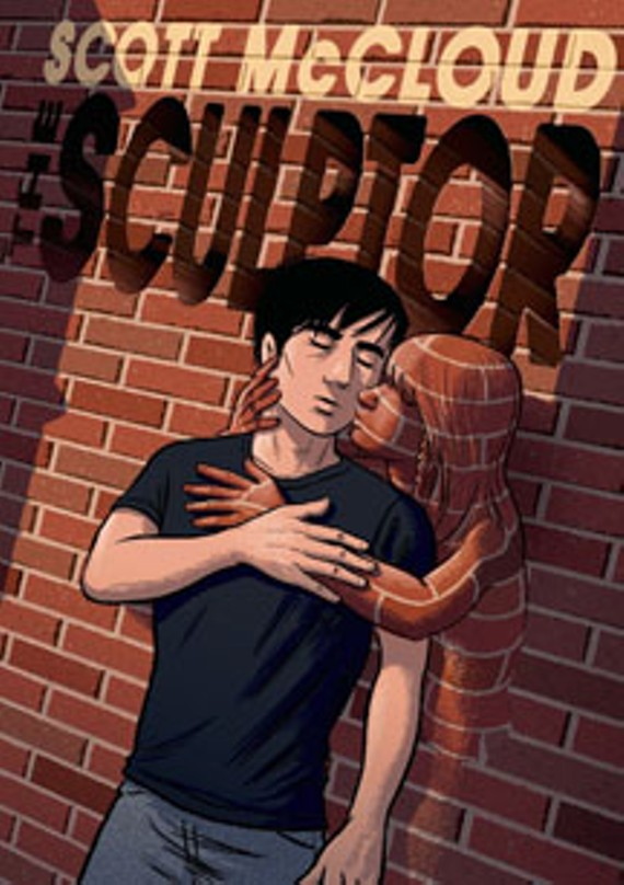 "In McCloud's graphic novel, ""The Sculptor,"" an artist is granted the abilities to sculpt anything he wants, but he only has 200 days to live."