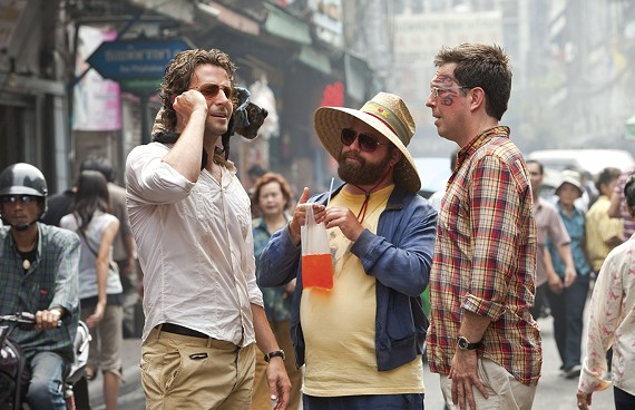 """In """"The Hangover 2,"""" Bradley Cooper, Zach Galifianakis and Ed Helms get the same old headaches in a brand-new town. - SUMMIT ENTERTAINMENT"""
