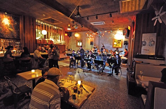 Inspired by memories of the Devil's Workshop Big Band, a longtime Monday night favorite at Bogart's Back Room, the RVA Big Band is making Mondays a special treat at Balliceaux, the former Bogart's space. - SCOTT ELMQUIST