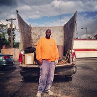 #HiddenRVA on Instagram Instagram by: Spencer L. Turner (@bprva)Where: Behind the Subway on the Corner of the Boulevard and Broad.What caught my eye: James Davis' truck turned into the parking lot and we couldn't help but follow it. You could only imagine the amount of recycling that had been squeezed into the back of that vehicle. The real people keeping our environment from total catastrophe are these hard-working men and women.