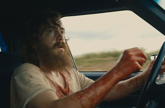 "Intense thriller ""Blue Ruin"" features actor Macon Blair as Dwight, an unlikely drifter caught up in a bloody family drama. Shot in Richmond, Goochland County, Alexandria and outside Charlottesville, the film opened at Bow Tie Criterion Cinemas at Movieland last week."