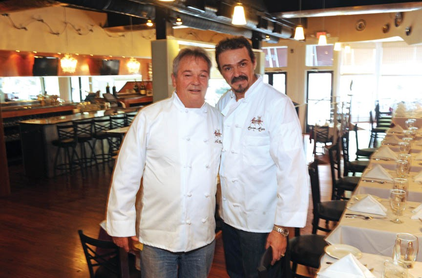 Italian Nick Rossicci and Spaniard Maximo Mozo bring together a wide-ranging tapas menu in their Shockoe Bottom restaurant Maximo's, which opened last week. - SCOTT ELMQUIST