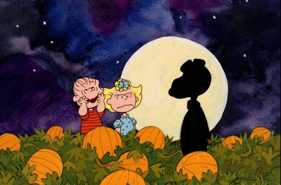 """It's the Great Pumpkin Charlie Brown."""