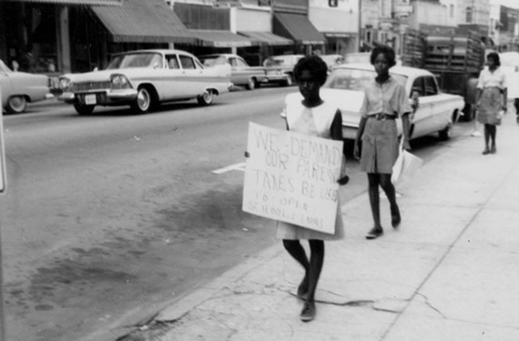 Jacqueline White and her sister, Vonita, say they were shocked but happy to see an image resurface of their participation in a protest from 1963.