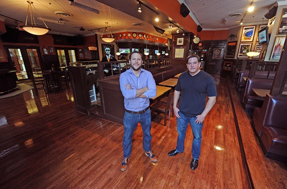 Jake Crocker and Hayden Fisher extend the F.W. Sullivan's brand into a canalside version, now open in the former Black Finn. - SCOTT ELMQUIST