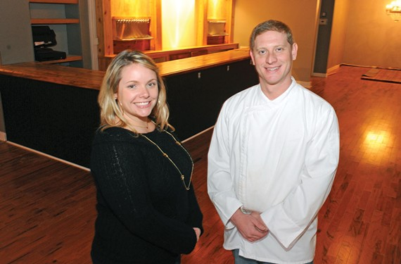 Jami Bohdan and chef Sean Murphy are about to open the Savory Grain, an upscale drafthouse in the Fan. Bohdan credits her husband Jason Bohdan and friends with helping redesign the space, formerly the Empress. - SCOTT ELMQUIST