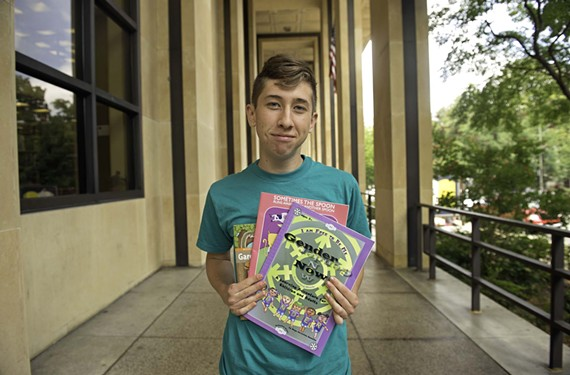 Jasper Gunn, a former University of Richmond student, started a transgender child-care co-op in Richmond.