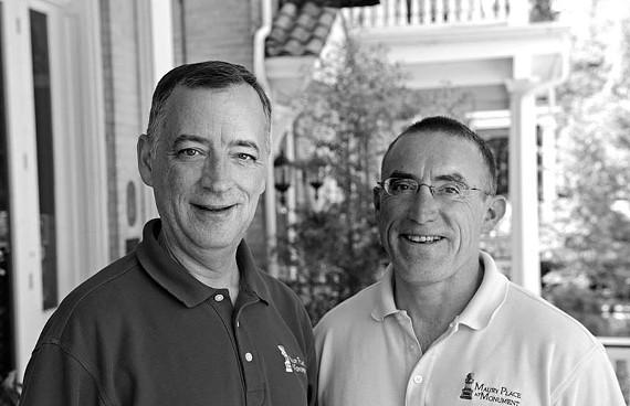 Jeff Wells and Mac Pence. - SCOTT ELMQUIST