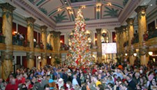 Jefferson Hotel Tree-Lighting Ceremony