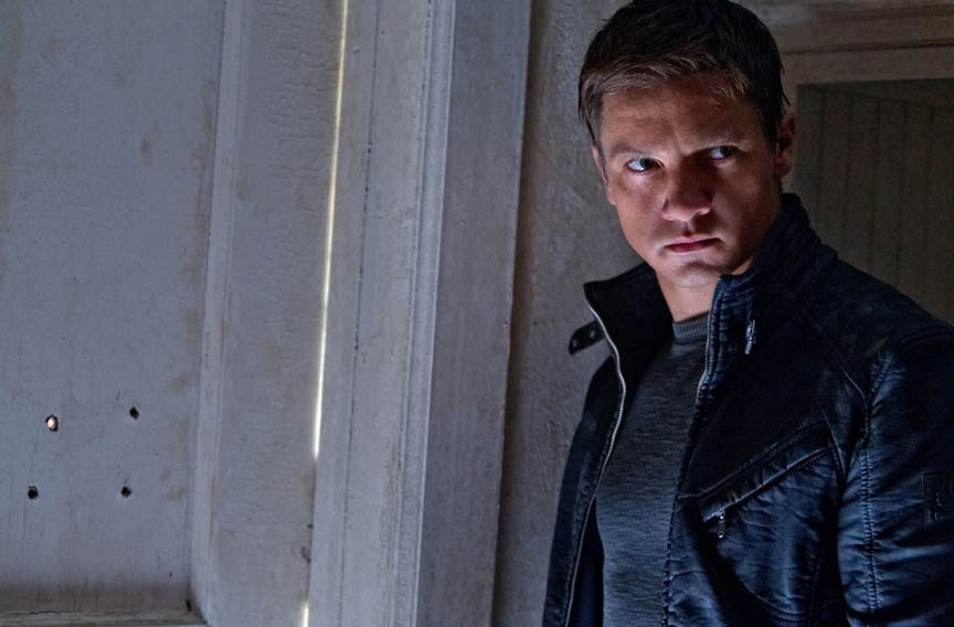 Jeremy Renner plays Aaron Cross, a super spy pursued by sinister forces. - MARY CYBULSKI