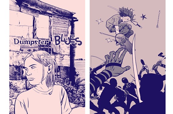 "Jesse ""Street Angel"" Sanchez faces ninja street gangs, evil geologists, Satan worshippers, and anything else that messes with her hood in the comic ""Street Angel,"" being republished in Richmond by AdHouse books."