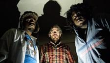 JJ Burton, Ohbliv and DJ Harrison at Strange Matter