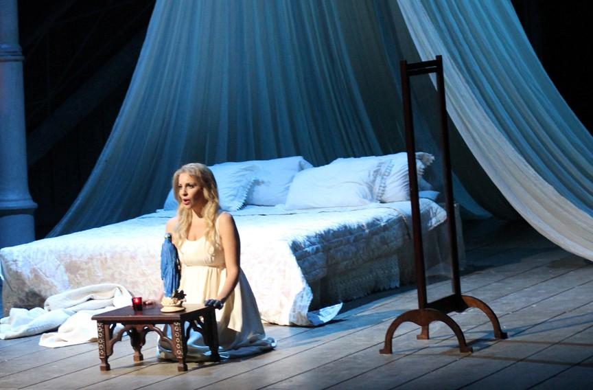 "Joyce El-Khoury plays Desdemona in Verdi's ""Othello."" - SARAH COHN"