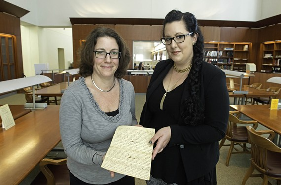 Kathy Jordan and Sonya J. Coleman are using open source code and lots of volunteer help to transcribe manuscripts from the Library of Virginia's treasure troves.
