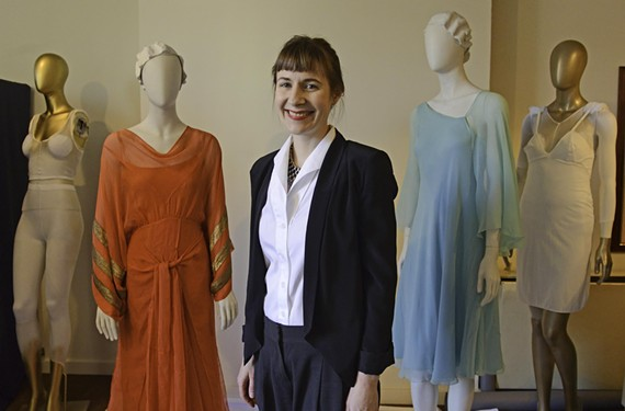 Kristen E. Stewart, the Valentine's new curator of costume and textiles, is making her first exhibition a feature of Greek and Roman influences on Richmond fashion over three centuries.