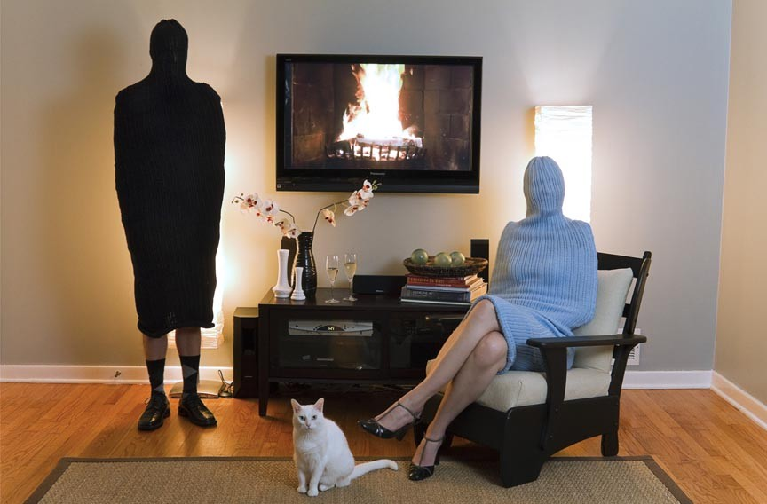 """Kristin Skees' 2010 """"The Gannons"""" is one of those featured in the photography exhibit """"UnBound."""""""