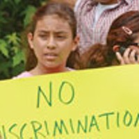 Latino Students Protest Treatment at High School