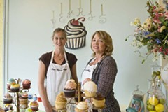 Laura Condrey and Laurie Blakey are capturing the cupcake market here. - ASH DANIEL
