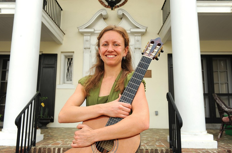 Leah Kruszewski is hoping she can raise enough funds through Kickstarter to travel to Spain and further study flamenco guitar and record an album. - SCOTT ELMQUIST