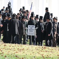 """Lincoln"" Movie Set at the Capitol  Eric Owen"