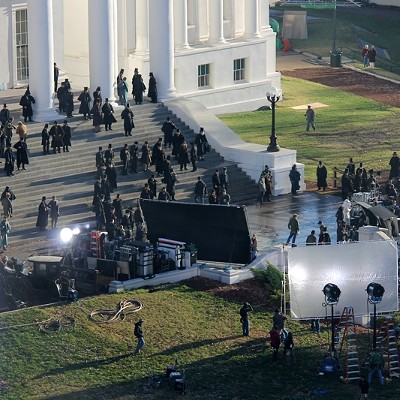 """Lincoln"" Movie Set at the Capitol"