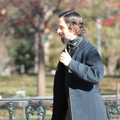 """""""Lincoln"""" Movie Set at the Capitol"""
