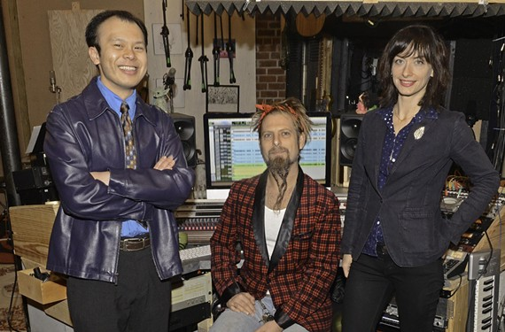 "Local musician and teacher Samson Trinh, musician and producer Lance Koehler of Minimum Wage Studios and musician and vocalist Laura Ann Singh helped create ""The Christmas Project,"" an album of rearranged classics."