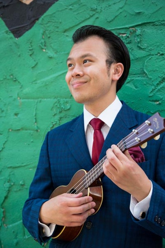 Local musician Samson Trinh will be bringing his ukulele class from SPARC to the fest and you can join in as well. - ASHLEY COVINGTON