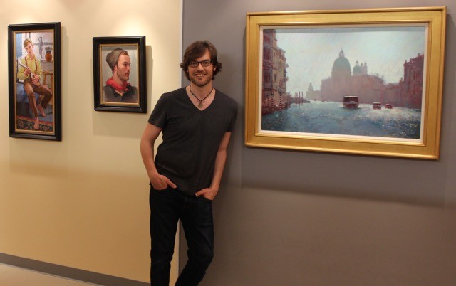 Local painter and teacher David Tanner, recently featured in PlenAir magazine, will have his annual show of work at Crossroads Art Center starting May 15.