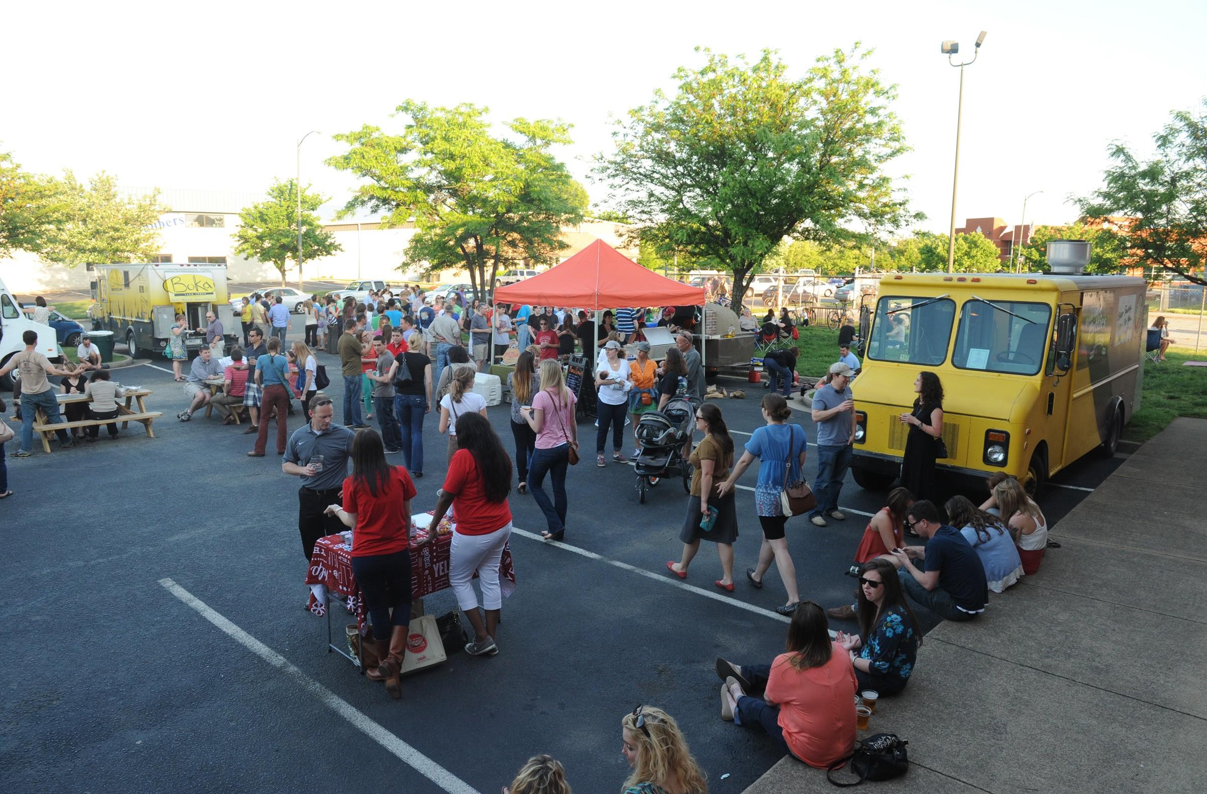 Food Truck Court Richmond Va
