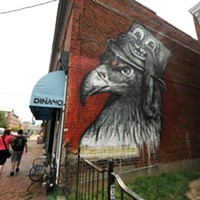 The Richmond Mural Project Location: 821 W. Cary St., Dinamo. Artist: Greg Mike.