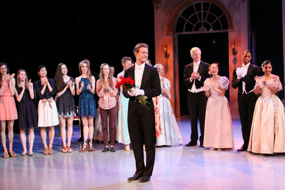 Longtime Richmond Ballet company dancer Phillip Skaggs had the audience in tears with his final performance.