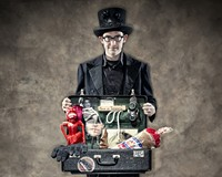 Magician David London at the Firehouse Theatre