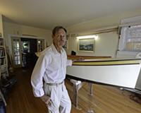 Man Builds Sailboat Inside Fan Apartment