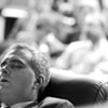 Manoli G. Loupassi takes a nap.
