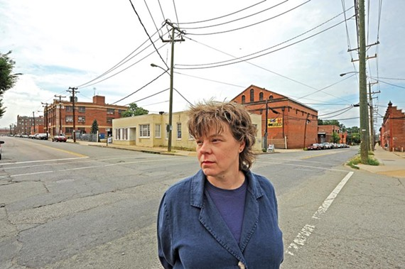 Margaret Rush, president of the Carver Area Civic Improvement League, says the neighborhood's relationship with VCU students has been uneasy. - SCOTT ELMQUIST