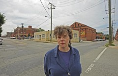 Margaret Rush, the president of the Carver Area Civic Improvement League, moved to the neighborhood seven years ago. She thinks the Gilbane project could be an asset to the area. - SCOTT ELMQUIST