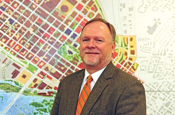 Mark Olinger became the city's director of planning and development review in September. - SCOTT ELMQUIST