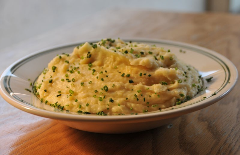 Mashed potatoes from Comfort are satisfyingly southern. - SCOTT ELMQUIST