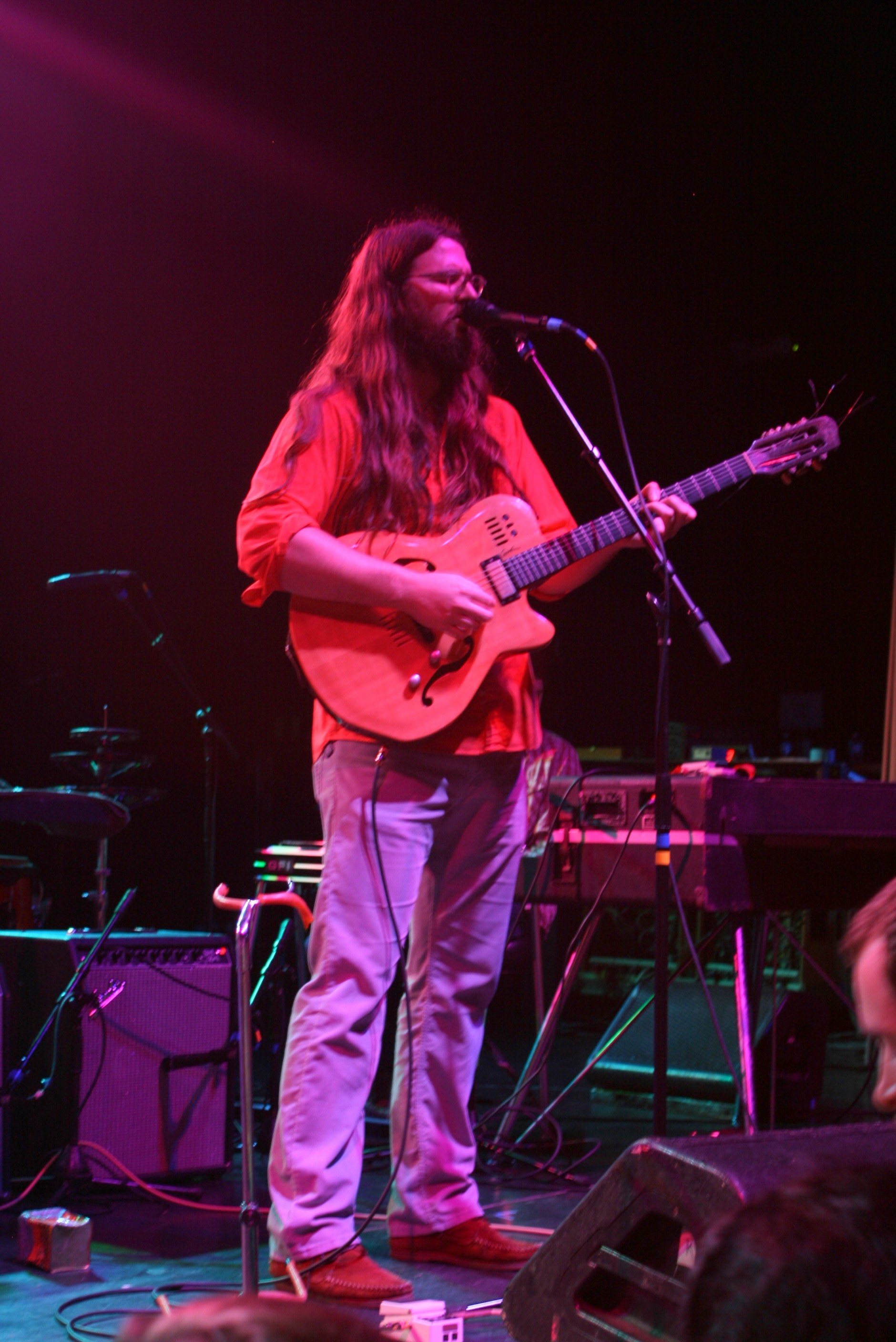 Matthew E. White performs at the National Oct. 9. - PETER MCELHINNEY