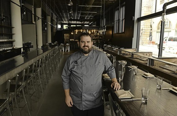 Matthew Robinett, chef de cuisine of  Graffiato in Richmond.