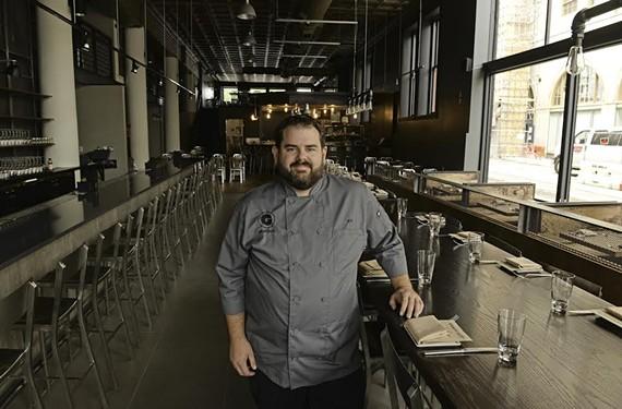 Matthew Robinett, chef de cuisine of  Graffiato in Richmond.